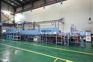 Continuous Type Furnaces for Normal & High Temp. Sintering